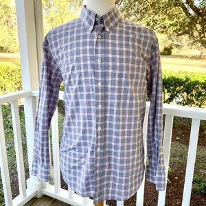 Billy Reid Standard Cut Plaid Check L/S Shirt XXL